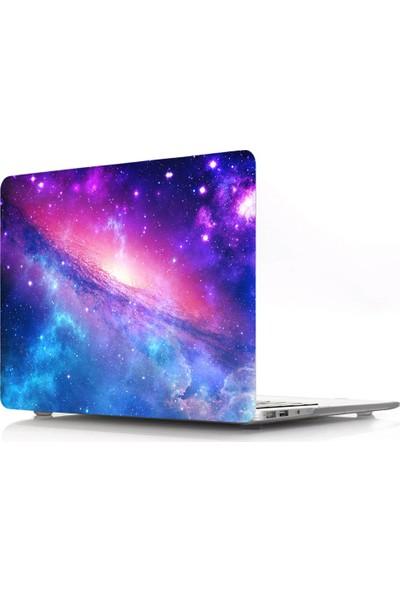 "Unico Apple Macbook Air 13"" ve 13.3"" A1369, A1466 Sert Koruyucu Kapak - Nebula 13A49"