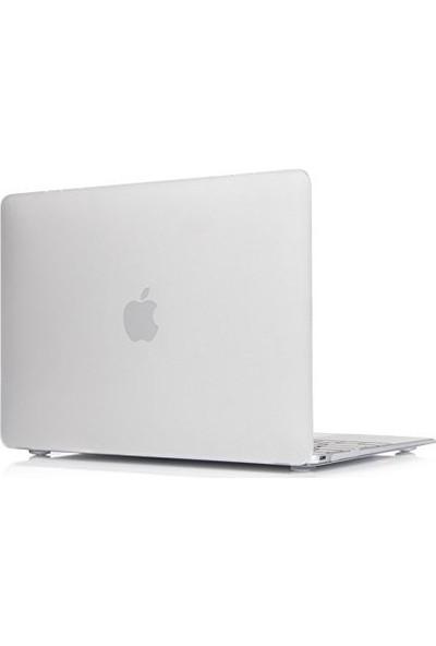 "Unico Apple Macbook Air 12"" Retina A1534 Sert Koruyucu Kapak - Şeffaf 12R19"