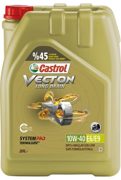 Castrol Vecton 10W40 Motor Yağı 20 lt