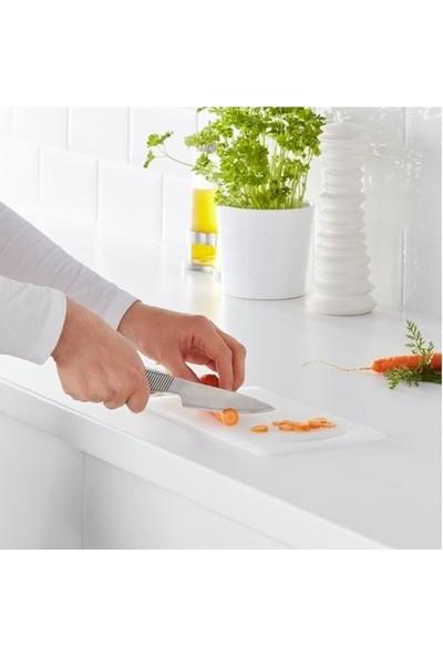 Ikea Hopplös Plastik Beyaz Kesme Tahtası - 15X24 cm