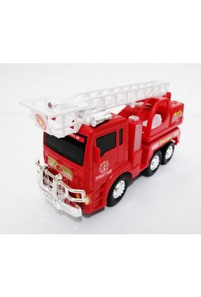 Ararat Fire Truck Işıklı Müzikli Büyük Boy İtfaiye