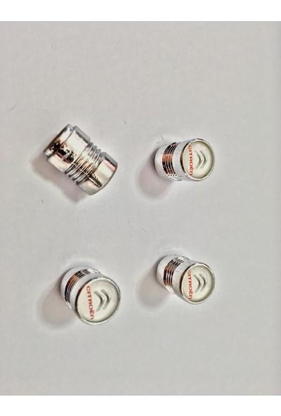 Eng Aksesuar Citroen Krom Kaplama Sibop Kapağı Citroen Amblemli Lüks Sibop Kapağı