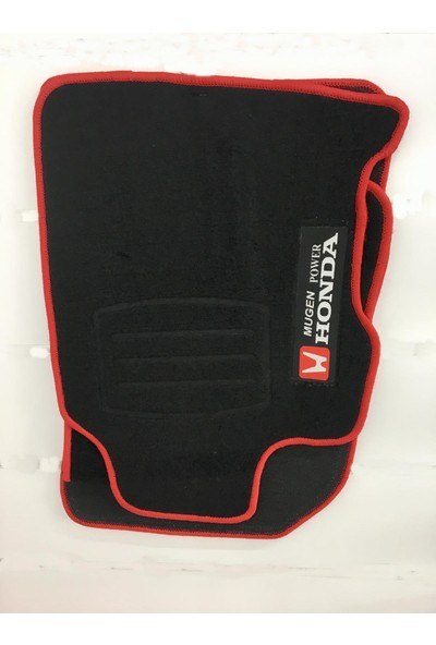 Eng Aksesuar Honda Civic 07-14 Siyah Paspas Mugen Halı Paspas Birebir