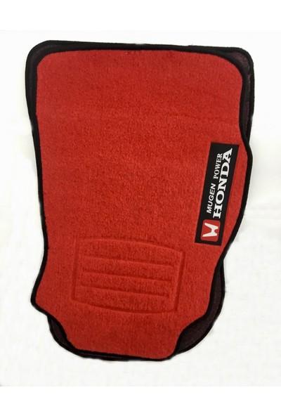 Eng Aksesuar Honda Civic 96-00 Kırmızı Paspas Mugen Halı Paspas Birebir Kesim