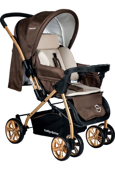 Baby Home BH-760 Gold Çift Yönlü Bebek Arabası