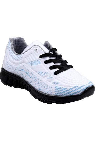 Papuç City Erkek Çocuk Bağcıklı Beyaz Spor Ayakkabı