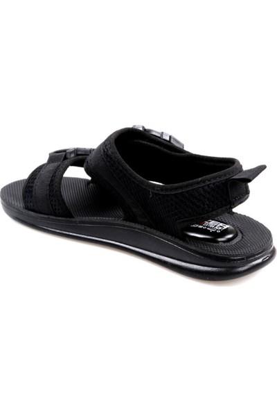 Gezer 00023 Erkek Çocuk (36-39) Siyah Sandalet
