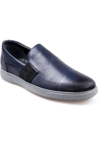 Tardelli 1829 Erkek Bağcıksız Siyah Günlük Ayakkabı