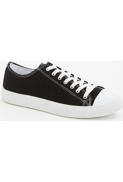 DeFacto Bağcıklı Bez Ayakkabı