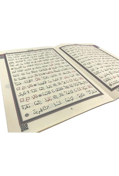 30 Cüz Kur'an-ı Kerim (Mavi, Kutulu, Orta Boy)