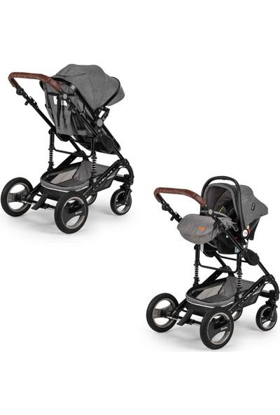 Elele Velar Travel Sistem Bebek Arabası Gri