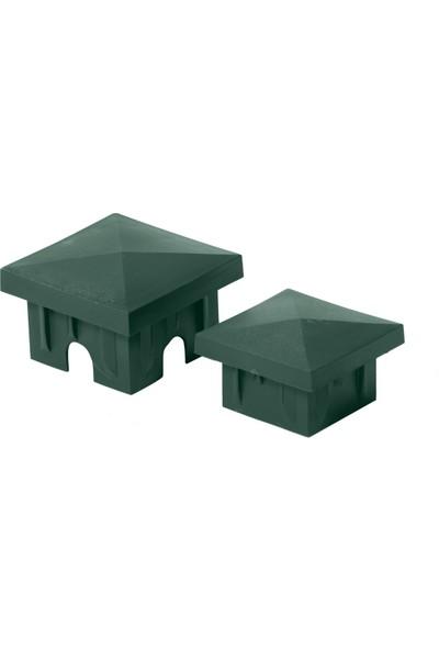 Demma Panel Çit Direk Kapağı ( Şapka) 10 Adet