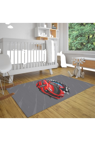 Caprice Race Car Çocuk Halısı