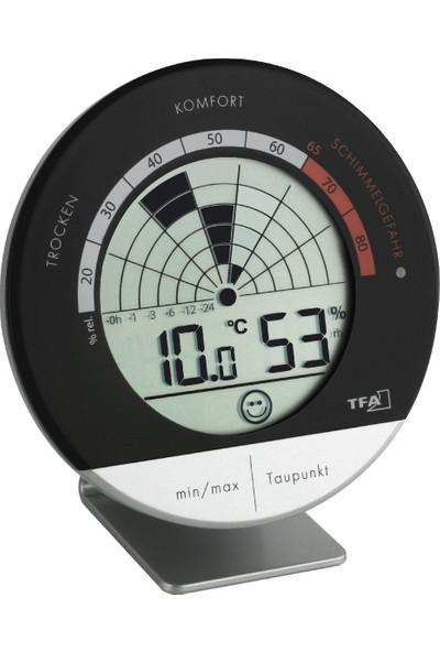 Tfa Radar Dijital Kayıtlı Termometre Nem Ölçer