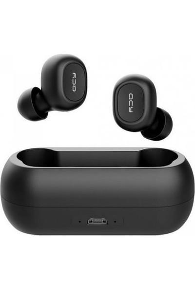 Qcy Qs1 Mini Bluetooth 5.0 Kablosuz Çift Mikrofonlu Kulaklık Şarj Edilebilir Kutulu