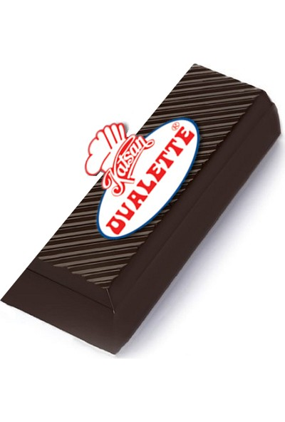 Ovalette Bitter Pasta Eritme Kazıma Kuvertür Çikolata 400 gr
