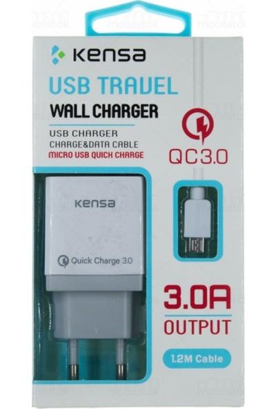 Kensa Micro USB 3.0 Hızlı Şarj Cihazı