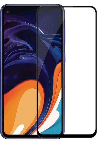 Melikzade Samsung Galaxy A60 Tam Kaplayan 5D Ekran Koruyucu Cam