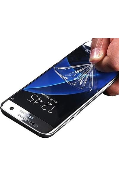 Casestore Samsung Galaxy A8 2018 Ön Arka Ekran Koruyucu Full Body Jelatin Şeffaf