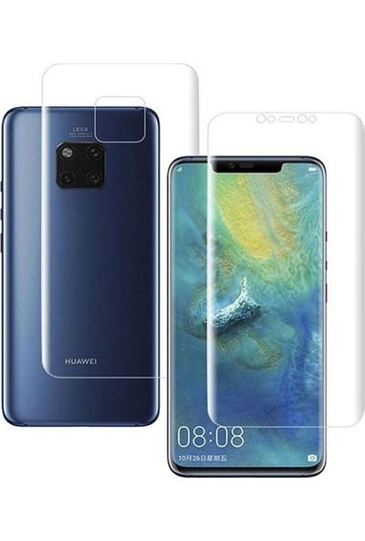 Casestore Huawei Mate 20 Pro Ön Arka Ekran Koruyucu Full Body Jelatin Şeffaf