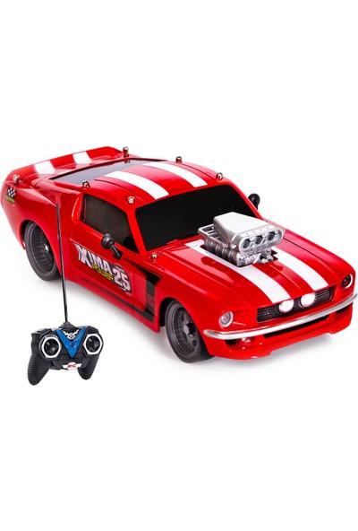 Can-Em Oyuncak Uzaktan Kumandalı Usb Şarjlı Spor Araba Kırmızı