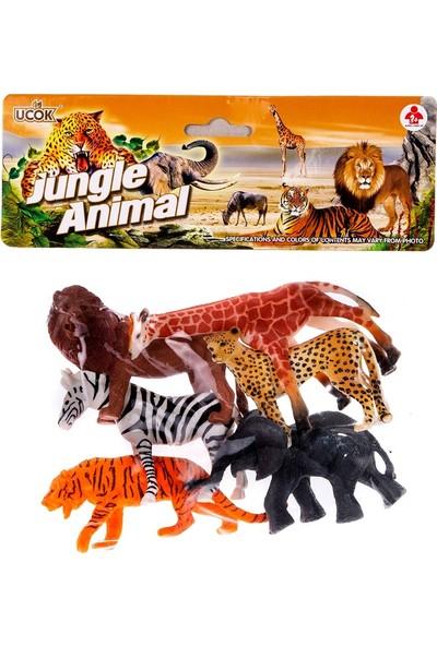 Can-Em Oyuncak Vahşi Hayvanlar Seti