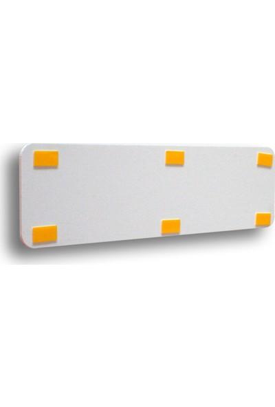 Adilon Girilmez 7 x 25 cm Foam Pvc Kapı İsimliği