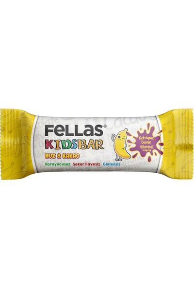 Fellas Kids Bar Muz ve Kakao 28 g