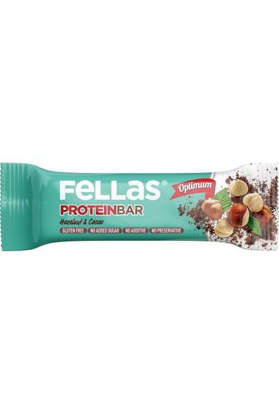 Fellas Optimum Protein Bar Fındık ve Kakao 32 g