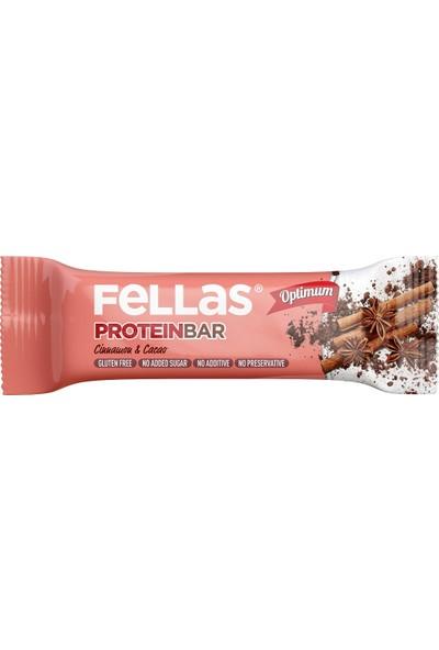 Fellas Optimum Protein Bar Tarçın ve Kakao 32 g