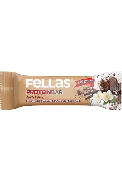 Fellas Optimum Protein Bar Vanilya ve Kakao 32 g
