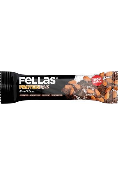 Fellas Protein Bar Badem ve Kakao 45 g
