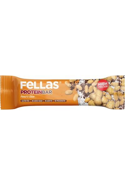 Fellas Protein Bar Yer Fıstığı ve Kakao 45 g