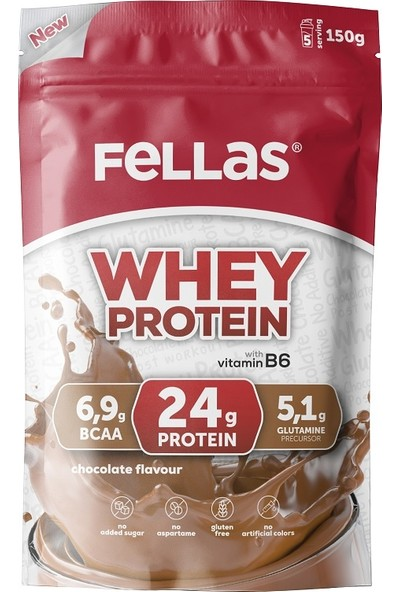 Fellas Protein Tozu Çikolata 900gr