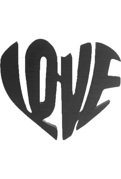Kaizenwood Ahşap Love Tablo