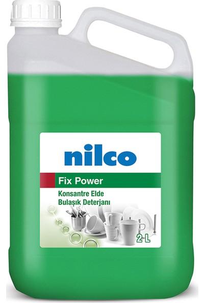 Nilco Konsantre Elde Bulaşık Yıkama Deterjanı Fix Power 2 lt