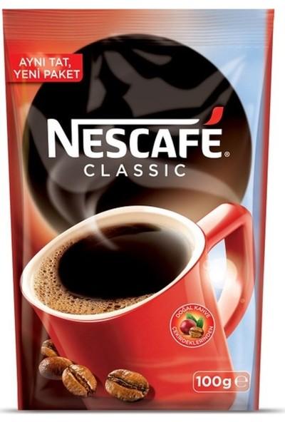 Nescafe Classic Ekopaket 100 gr 12 li Set