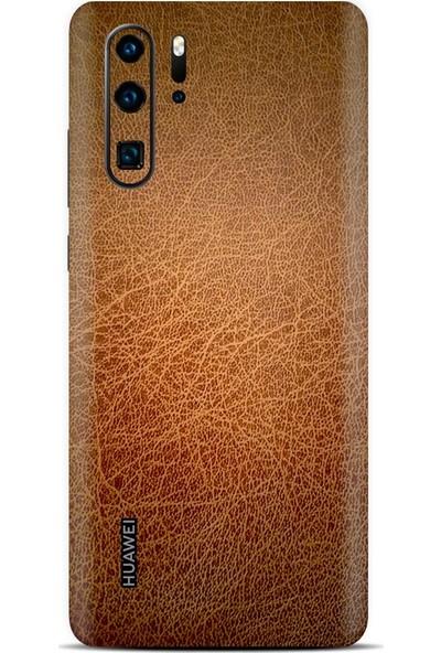 3M Huawei P30 Pro Kahverengi Deri Telefon Kaplama