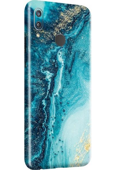 3M Huawei Honor Play Blue Marble Telefon Kaplama