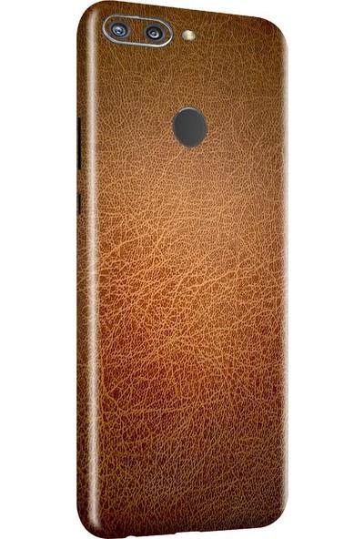3M Huawei Honor 9N Kahverengi Deri Telefon Kaplama