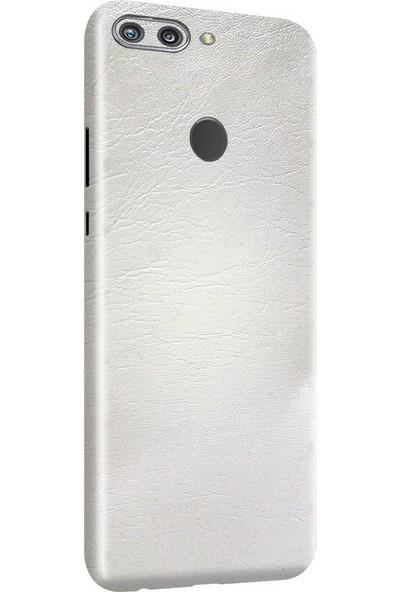 3M Huawei Honor 9N Beyaz Deri Telefon Kaplama