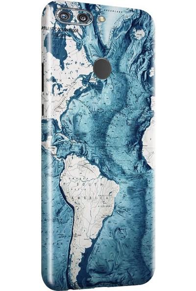3M Huawei Honor 9N World map Telefon Kaplama