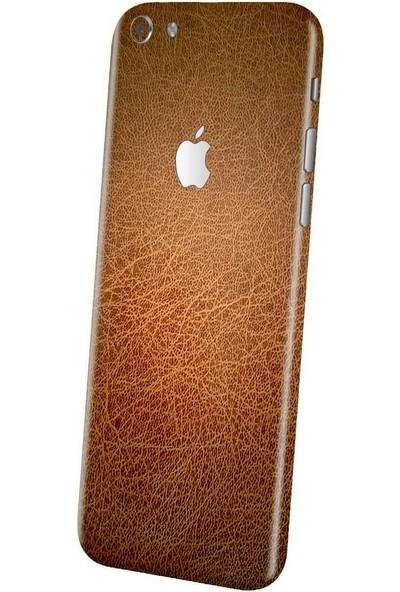 3M Apple iPhone 6 Plus Kahverengi Deri Telefon Kaplama