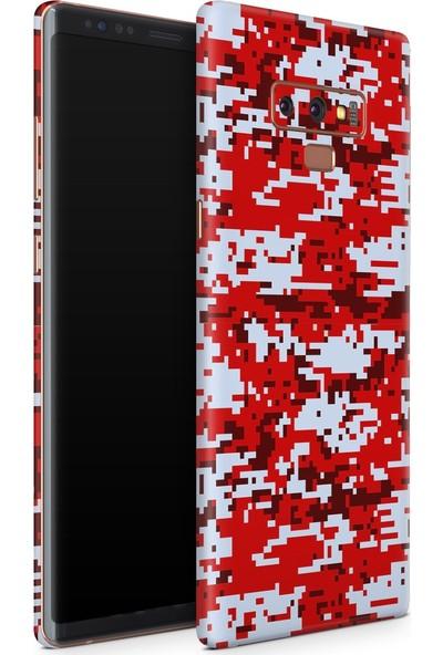 3M Samsung Galaxy Note 9 Camouflage Red Telefon Kaplama
