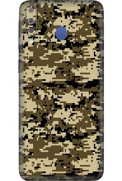 3M Samsung Galaxy M40 Camouflage Brown Telefon Kaplama