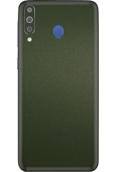 3M Samsung Galaxy M40 Matte Military Green Telefon Kaplama