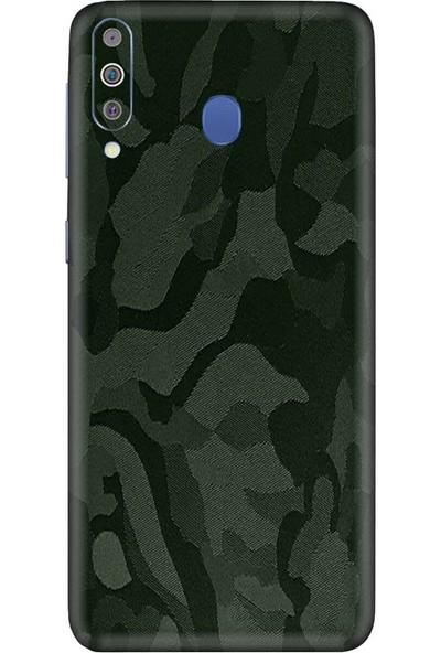 3M Samsung Galaxy M40 Shadow Military Green Telefon Kaplama