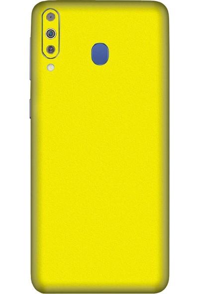 3M Samsung Galaxy M40 Lemon Yellow Matte Telefon Kaplama