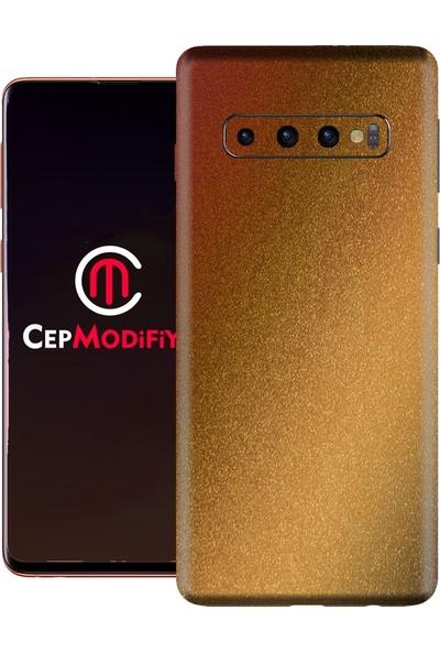 3M Samsung Galaxy S10 Gloss Rising Sun Telefon Kaplama