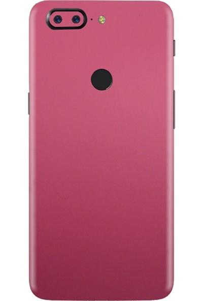 3M OnePlus 5T Matte Pink Telefon Kaplama